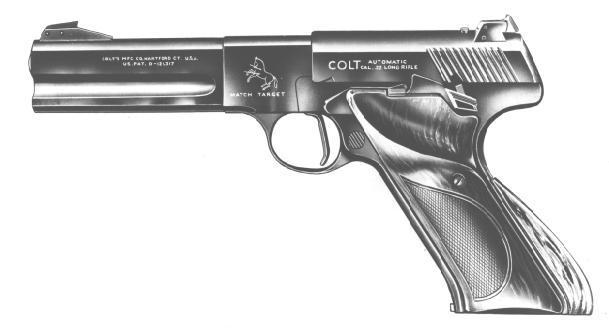 Second Series Match Target Model Colt Woodsman, 4-1/2